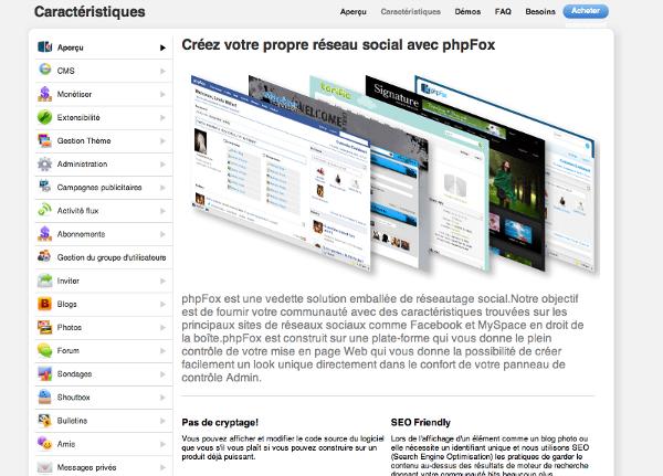 CMS communautaire, réseau social