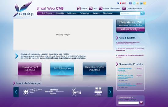 Ametys : Logiciel de gestion de contenu web (WCMS)