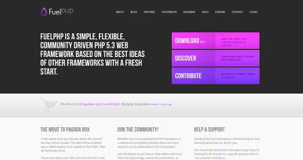 Framework PHP : FuelPHP