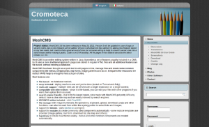 Cromoteca Script CMS Blog Java
