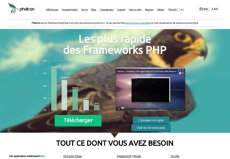 Le framework le plus rapide du monde ! Oui, c'est possible en tant qu'extension PHP ;-)
