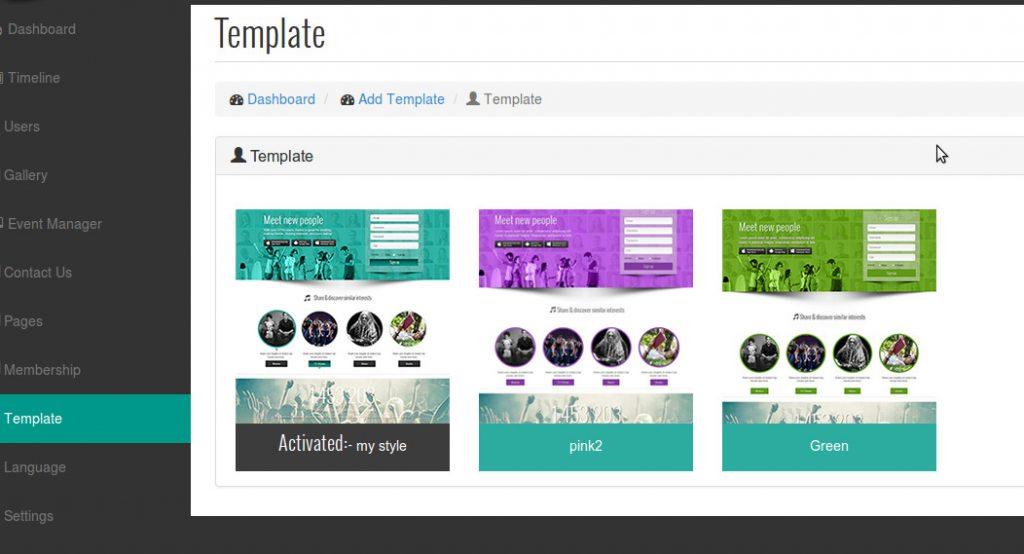 Creation Site/App de Réseautage