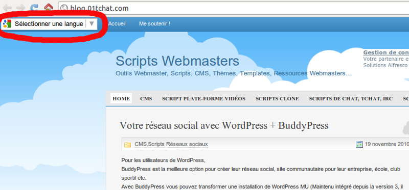 Script open source site de rencontre