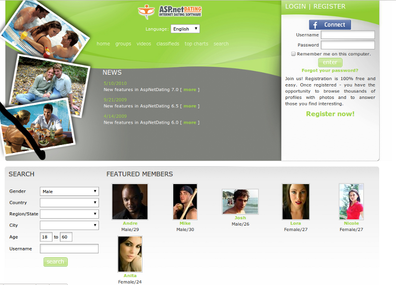 Open dating sites online